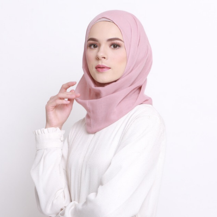 5. INSTAN VOILE SOFT PINK